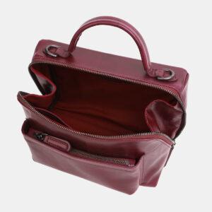 Вместительная бордовая женская сумка ATS-3843 232965