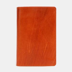 Стильная оранжевая обложка для паспорта ATS-4096