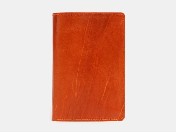 Солидная оранжевая обложка для паспорта ATS-4096