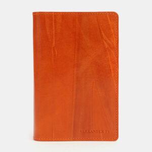 Солидная оранжевая обложка для паспорта ATS-4096 232851