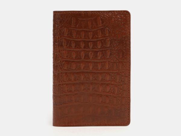 Уникальная светло-коричневая обложка для паспорта ATS-4093