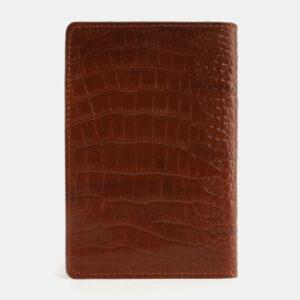 Уникальная светло-коричневая обложка для паспорта ATS-4093 232863
