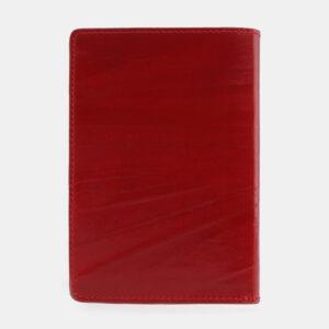 Кожаная красная обложка для паспорта ATS-2542 233008