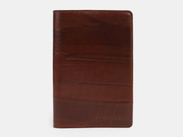 Модная светло-коричневая обложка для паспорта ATS-1704