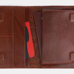 Модная светло-коричневая обложка для паспорта ATS-1704 233028