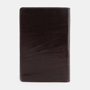 Стильная коричневая обложка для паспорта ATS-1705 233025