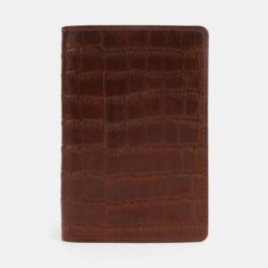 Деловая светло-коричневая обложка для паспорта ATS-3303