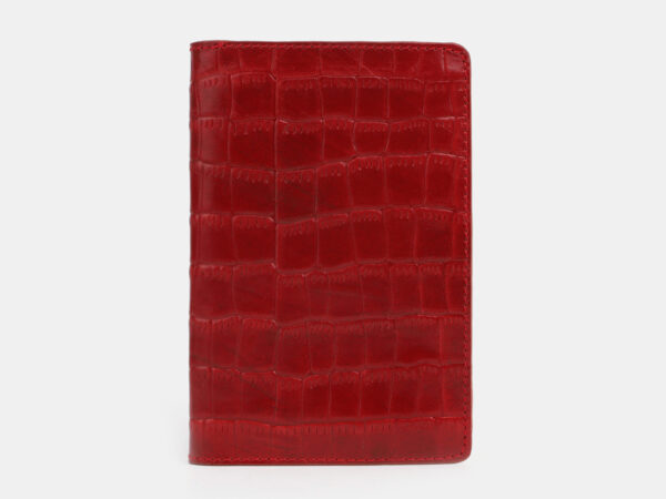 Модная красная обложка для паспорта ATS-4095