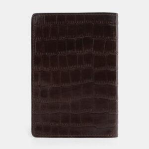 Удобная коричневая обложка для паспорта ATS-4094 232859