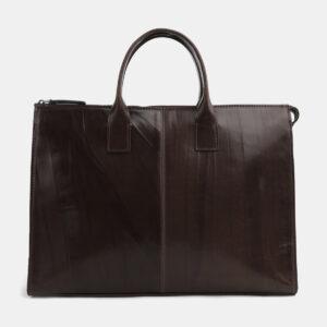 Уникальный коричневый мужской портфель ATS-4102 236287