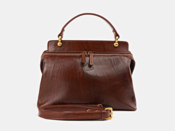 Модная светло-коричневая женская сумка ATS-3520