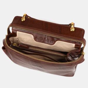 Модная светло-коричневая женская сумка ATS-3520 236526