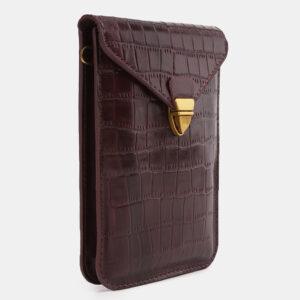 Кожаный женский клатч ATS-3928 236321