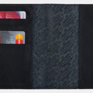 Солидная черная обложка для паспорта ATS-1696 233036