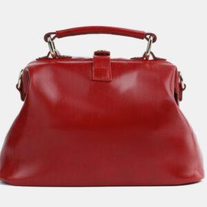 Функциональная красная сумка с росписью ATS-4099 236302