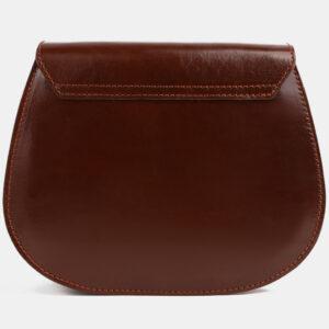 Вместительный светло-коричневый клатч с росписью ATS-4100 236297