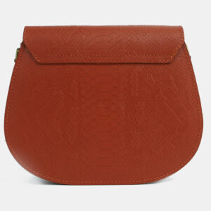 Уникальный темно-оранжевый женский клатч ATS-4113 236238