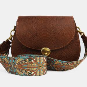 Кожаный женский клатч ATS-4112