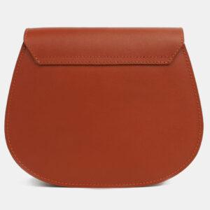 Удобный темно-оранжевый женский клатч ATS-4116 236223