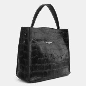 Стильная черная женская сумка ATS-4097 236311
