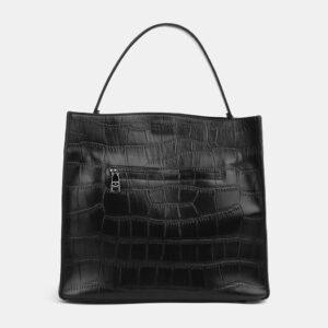 Стильная черная женская сумка ATS-4097 236312