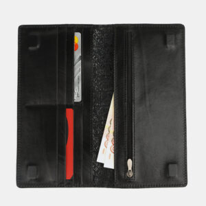 Удобный черный портмоне ATS-4106 236267
