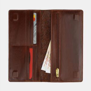 Деловой светло-коричневый портмоне ATS-4107 236263