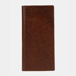 Деловой светло-коричневый портмоне ATS-4109 236256
