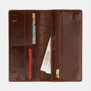 Деловой светло-коричневый портмоне ATS-4109 236255