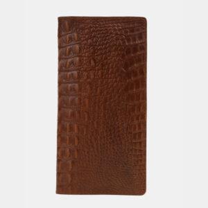 Кожаный светло-коричневый портмоне ATS-4110 236252