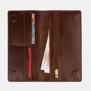 Удобный светло-коричневый портмоне ATS-4111 236247