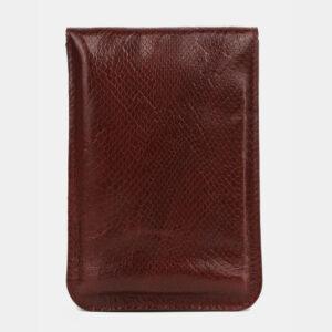 Стильный бордовый женский клатч ATS-4121 236208