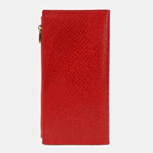 Стильный красный портмоне ATS-4126 236492