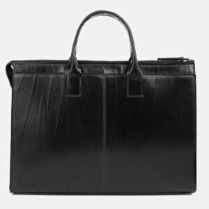 Функциональная черная женская сумка ATS-4035