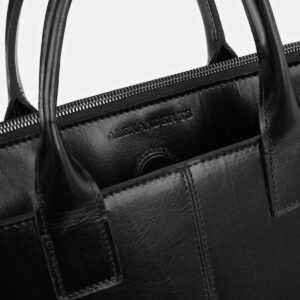 Функциональная черная женская сумка ATS-4035 232941