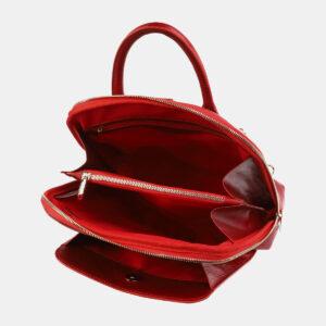 Функциональный красный рюкзак кожаный ATS-4029 232943