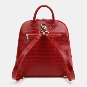 Функциональный красный рюкзак кожаный ATS-4029 232945