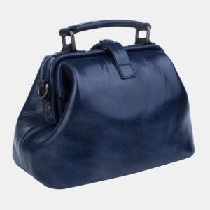 Функциональная синяя женская сумка ATS-3252 236534