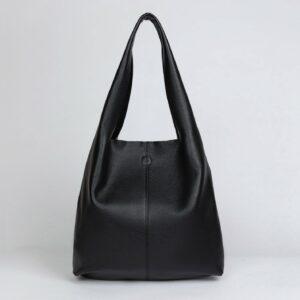 Вместительная черная женская сумка FBR-2892 236145