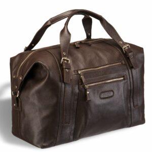 Функциональная коричневая мужская сумка BRL-11875
