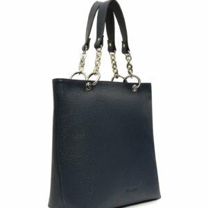 Кожаная синяя женская сумка FBR-1346 233170