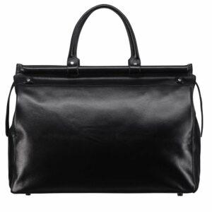 Кожаная черная мужская сумка BRL-149 233324