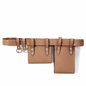 Вместительная темно-оранжевая женская поясная сумка FBR-2454 236557