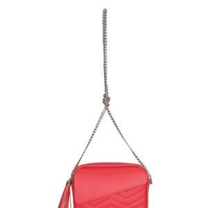 Функциональная розово-оранжевая женская сумка FBR-1340