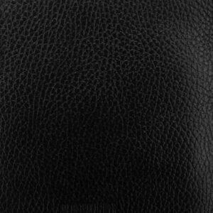 Кожаная черная мужская сумка мессенджер BRL-19879 234684