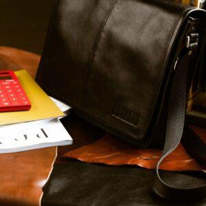 Неповторимая черная мужская сумка BRL-949 233458