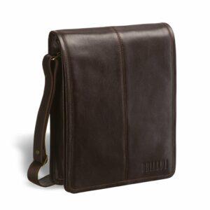 Солидная коричневая мужская сумка через плечо BRL-2967