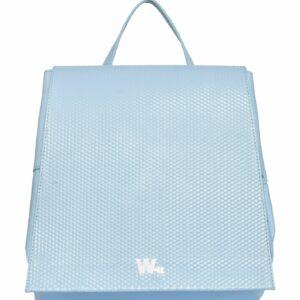 Стильный голубой женский рюкзак FBR-1823