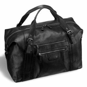 Кожаная черная мужская сумка BRL-11874 233898