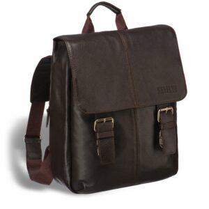 Удобный коричневый мужской рюкзак для ручной клади BRL-17457